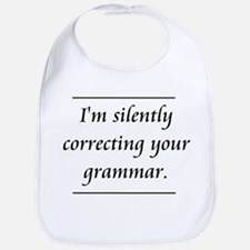 I'm Silently Correcting Your Grammar Bib
