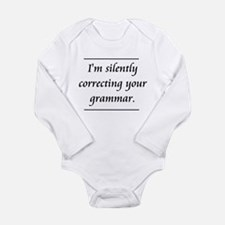 I'm Silently Correcting Your Grammar Body Suit