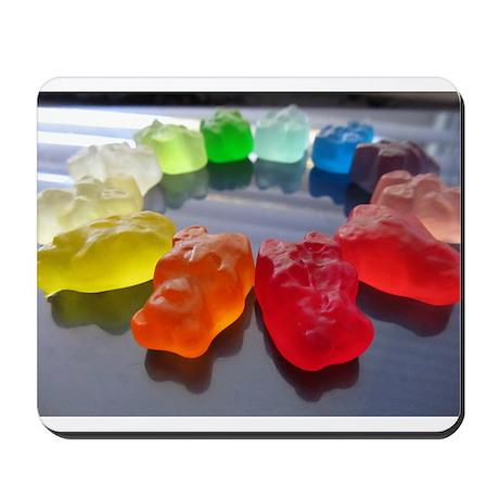 Rainbow of Gummi Bears Mousepad