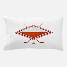 Polski Hokej Na Lodzie Flag Pillow Case