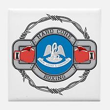 Louisiana Boxing Tile Coaster