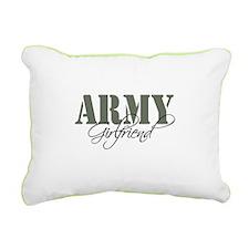 Army Girlfriend Rectangular Canvas Pillow