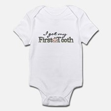 First Tooth (boy) Infant Body Suit