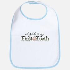 First Tooth (Boy) Bib