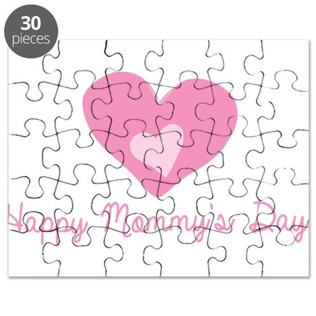 Happy Mommys Day Puzzle
