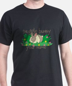 Personalized Snuggle Bunny T-Shirt