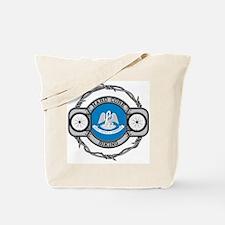 Louisiana Biking Tote Bag