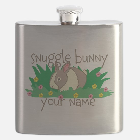 Personalized Snuggle Bunny Flask