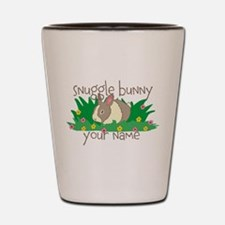 Personalized Snuggle Bunny Shot Glass