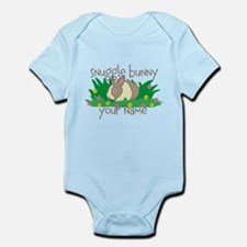 Personalized Snuggle Bunny Body Suit