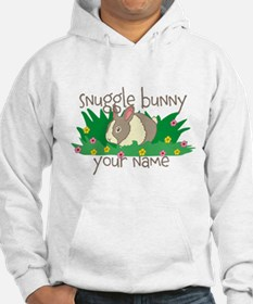 Personalized Snuggle Bunny Hoodie