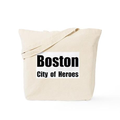 Boston: City of Heroes Tote Bag