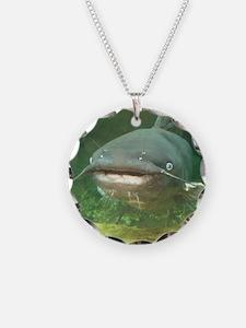 Curious Catfish Necklace
