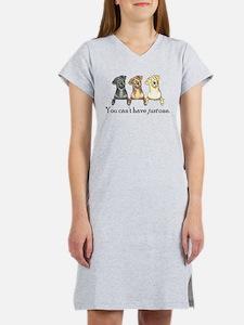 Just One Lab Women's Nightshirt