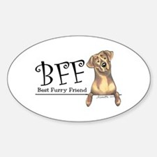 Chocolate Lab BFF Decal