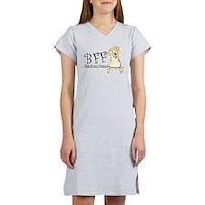 Yellow Lab BFF Women's Nightshirt