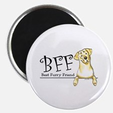 """Yellow Lab BFF 2.25"""" Magnet (10 pack)"""