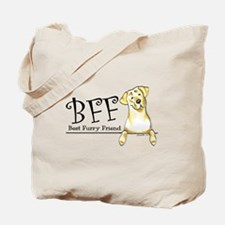 Yellow Lab BFF Tote Bag