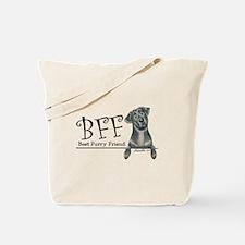 Black Lab BFF Tote Bag