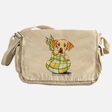 Baby Yellow Lab Messenger Bag
