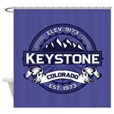 Keystone Midnight Shower Curtain
