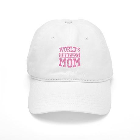 World's Okayest Mom [v. pink] Cap