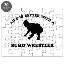 Sumo Wrestler vector designs Puzzle