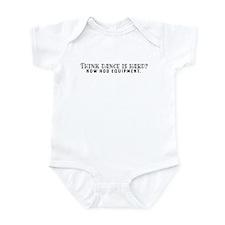 Think dance is hard? Infant Bodysuit