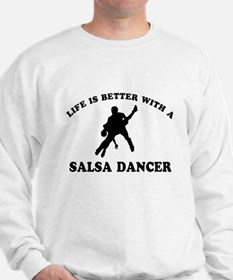 Salsa Dancer vector designs Jumper