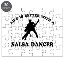 Salsa Dancer vector designs Puzzle