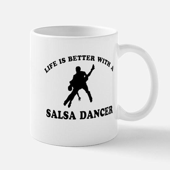 Salsa Dancer vector designs Mug