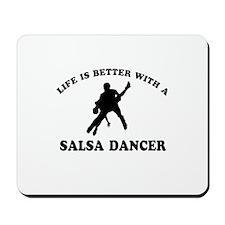 Salsa Dancer vector designs Mousepad