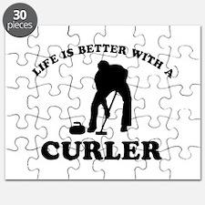 Curler vector designs Puzzle