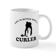 Curler vector designs Mug