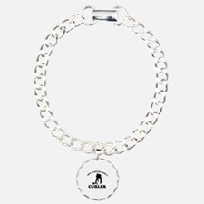 Curler vector designs Bracelet