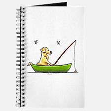 Yellow Lab Fishing Journal