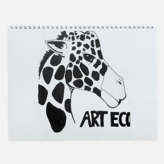 Art Eco Utah 2013 Wall Calendar