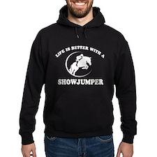 Show Jumper vector designs Hoodie