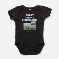 Smoky Mountains Americasbesthistory. Baby Bodysuit