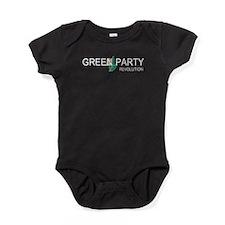 Green Party Baby Bodysuit