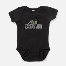 Be Shamrock Green Baby Bodysuit
