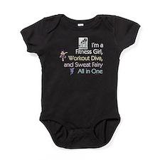 Workout Diva Baby Bodysuit