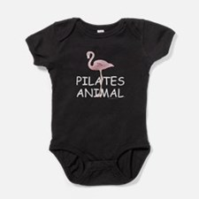 Pilates Animal Baby Bodysuit