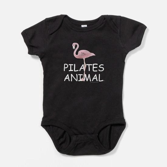 Pilates Animal Baby Bodysuit
