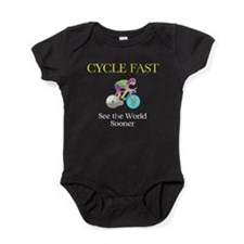 TOP Cycle Fast Baby Bodysuit