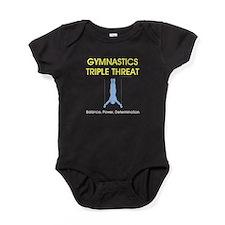 Gymnastics Teepossible.com Baby Bodysuit