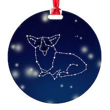 Corgi Constellation Ornament