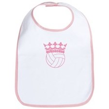 Volleyball Princess Bib