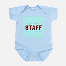 STAFF, not Infant Bodysuit