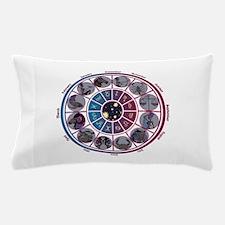 Starlight Zodiac Wheel Pillow Case